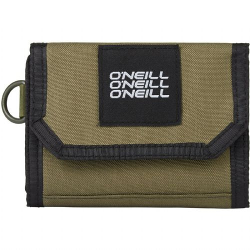 O'NEILL MENS WALLET.POCKETBOOK TRIFOLD ARMY GREEN MONEY NOTE CARD PURSE 9S 200/6